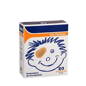 Coverlet Eye Occlusor Junior (Pack of 20)