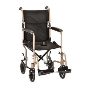 Nova 19 inch Steel Transport Chair