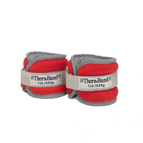 TheraBand Comfort Fit Wrist & Ankle Cuff Weight Set