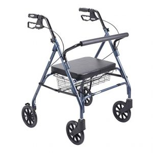 Heavy Duty Bariatric Rollator Walker