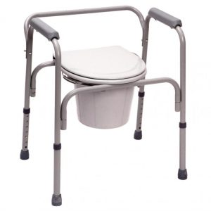 Steel 3-in-1 Commode