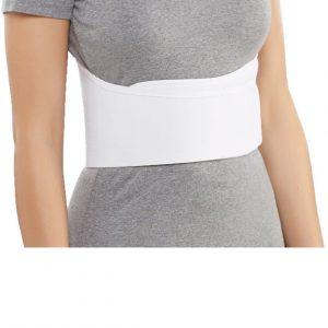 Bell-Horn Elastic Rib Belt for Women (Universal)