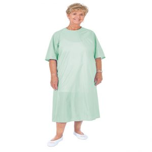 Essential Flannel Gown - Half Sleeve
