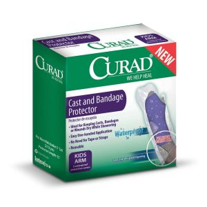 CURAD Cast and Bandage Protectors For Kids Leg, Arm