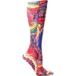Celeste Stein Women's Knee-High 8-15Mmhg Compression Socks