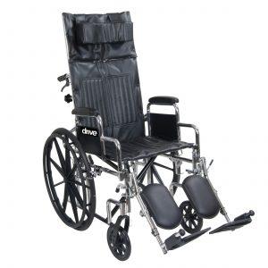 Chrome Sport Full-Reclining Wheelchair