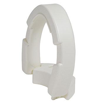 Essential Hinged Toilet Seat Riser Riteway Medical