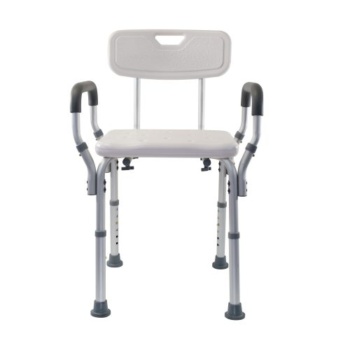Essential Deluxe Shower Benches with Arms