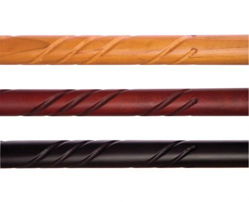 Essential Wood Curved Handle Canes-W1539