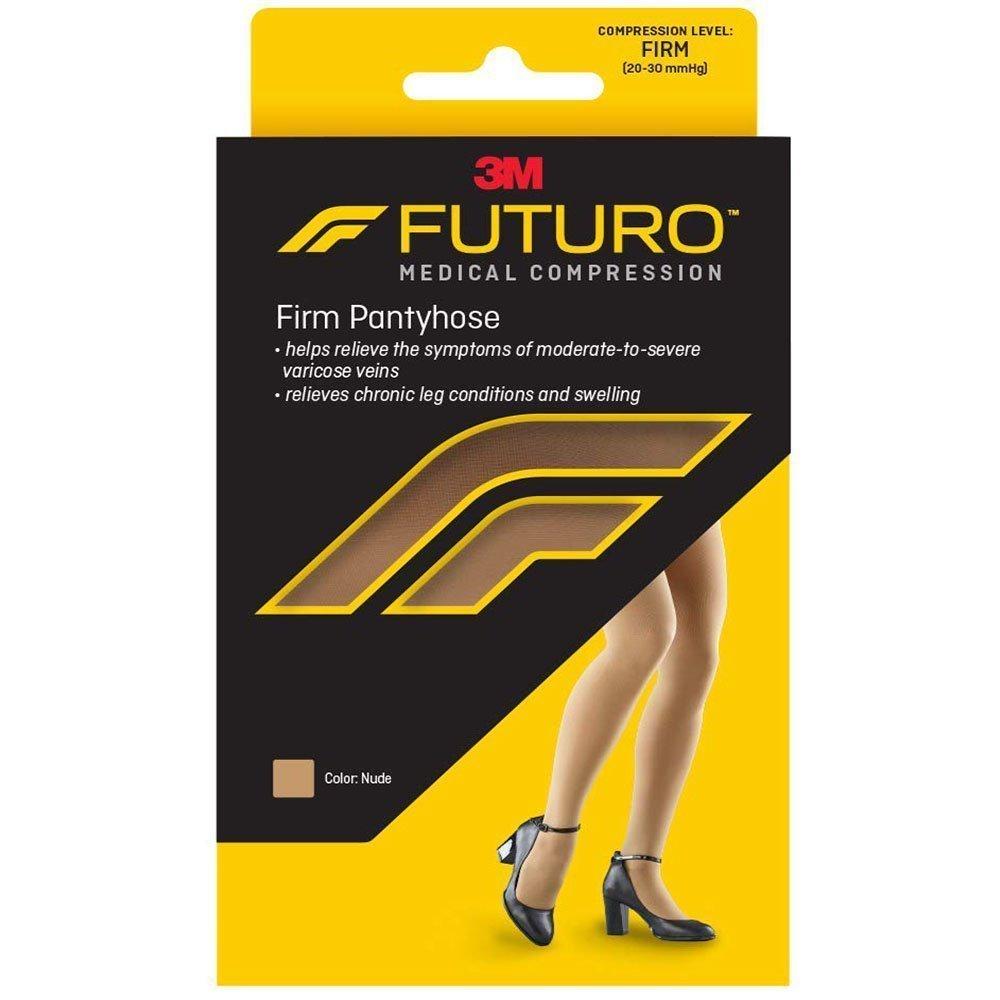 6d0c929601 Futuro Restoring Pantyhose Stockings 20-30 mmHg Closed Toe Nude