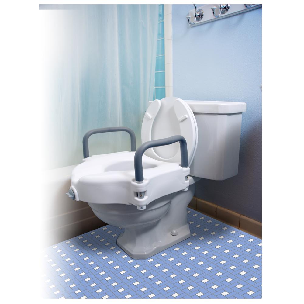 Buy Essential Medical Locking Raised Toilet Seat Riteway