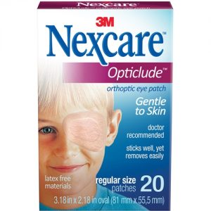 Nexcare Opticlude Orthoptic Eye Patch (Pack of 20)