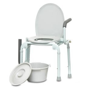 ProBasics Steel Drop-Arm Commode