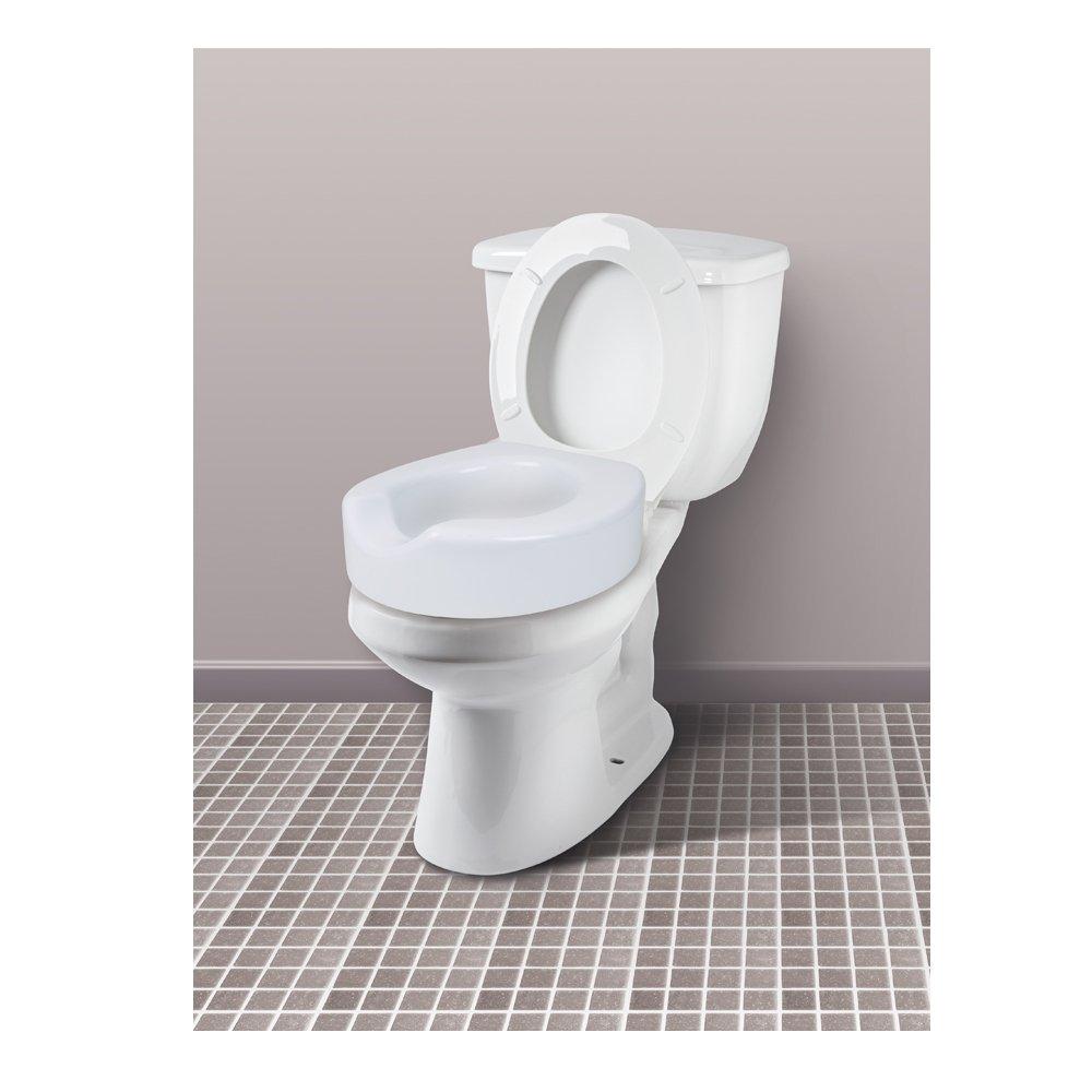 Miraculous Buy Carex Quick Lock Raised Toilet Seat Toilet Seat Riser Short Links Chair Design For Home Short Linksinfo
