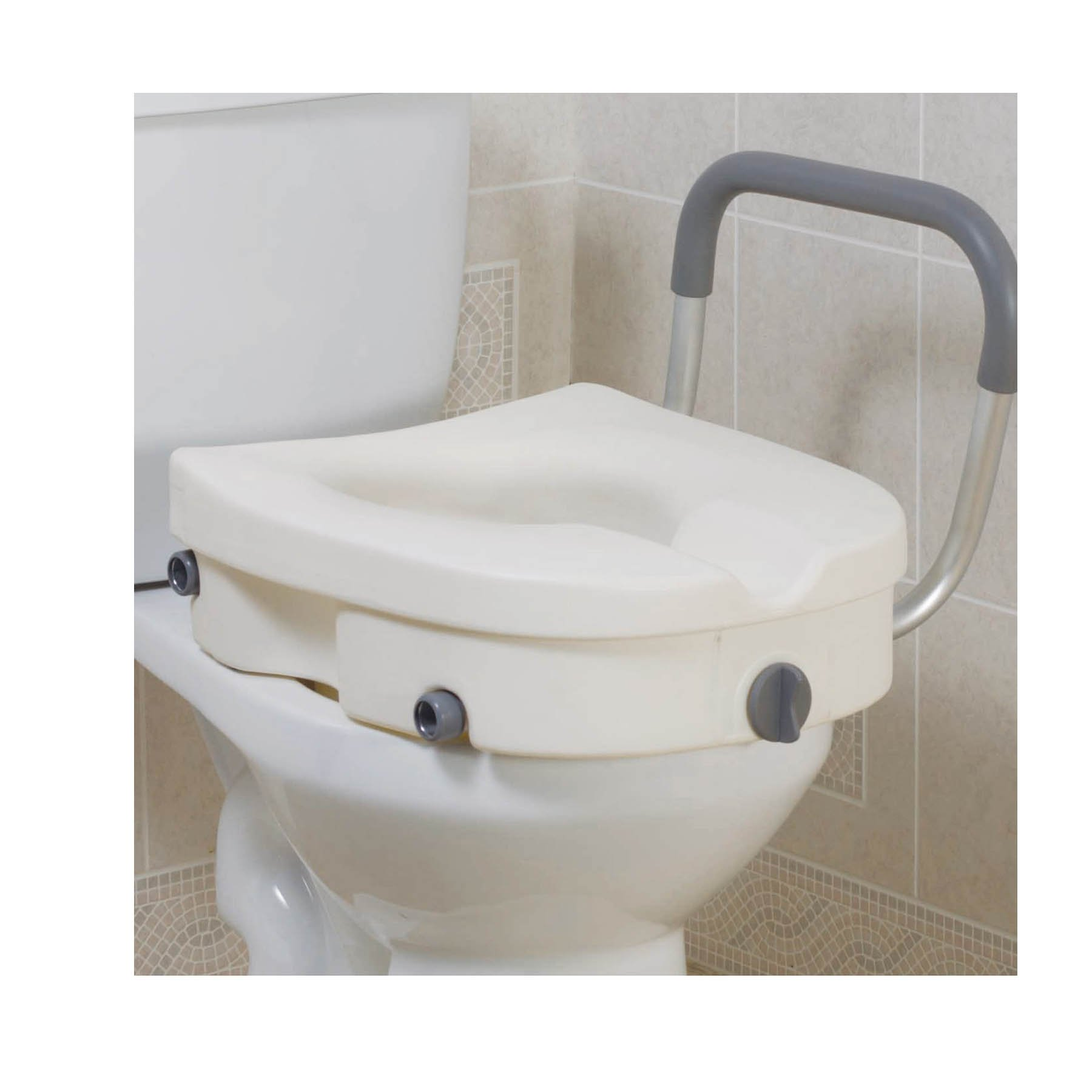 Cool Drive Raised Toilet Seat With Removable Padded Arms Caraccident5 Cool Chair Designs And Ideas Caraccident5Info