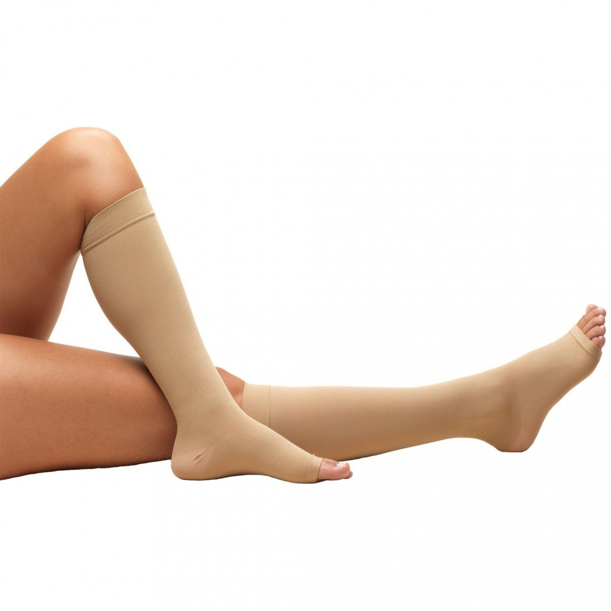 64787fdd6b3 Truform Anti-embolism Stockings 18 mmHg Knee High Open Toe
