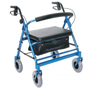 Endurance HD Heavy Duty Four Wheel Walker