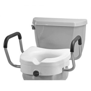 Nova Raised Toilet Seat with Detachable Arms