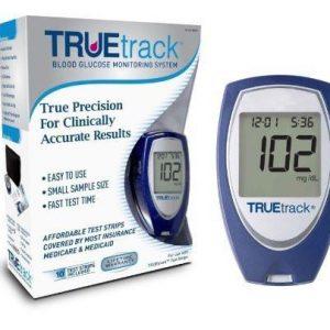 TrueTrack Blood Glucose Meter Kit