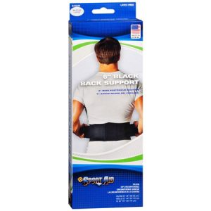 Sport Aid Dura-Foam Back Belt (no suspenders) Medium