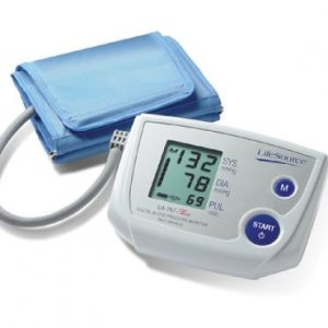 LifeSource One Step Auto Inflate Memory Blood Pressure Monitor