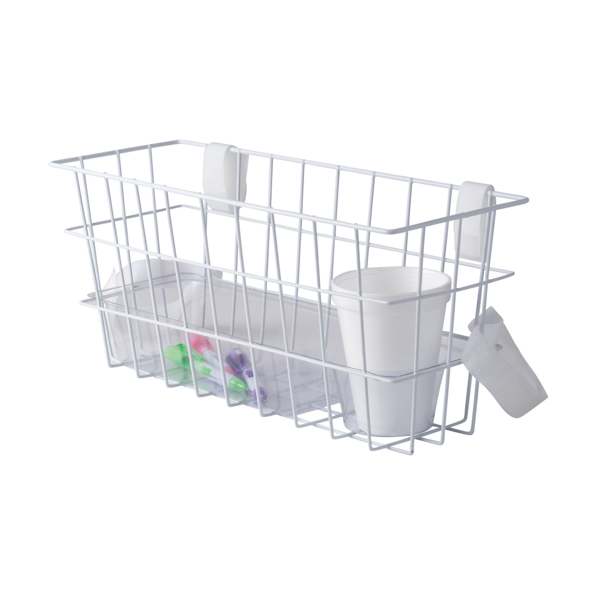 Healthsmart Universal Walker Basket With Plastic Insert