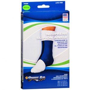 Scott Sport Aid Neoprene Slip-on Ankle Brace Medium