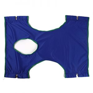 Invacare Solid Polyester Standard Sling with Commode Opening