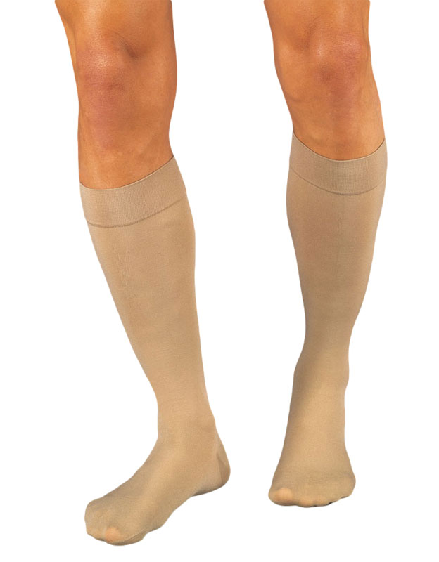e961e73b242 Dr. Scholl s Post Surgical Compression Stockings 20-30 mmHg Knee High  Closed Toe Beige