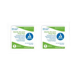 Dynarex Sterile Alcohol Prep Pads (2 Packs)