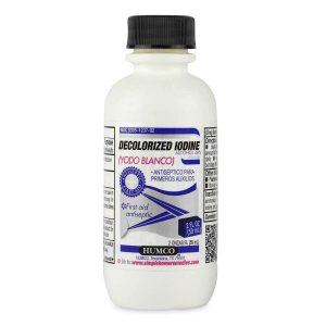 Humco Iodide Tincture Decolorized Antiseptic, 2 fl oz