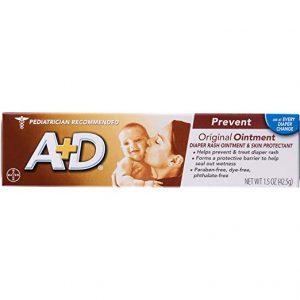 A&D Original Diaper Rash Ointment, Baby Skin Protectant