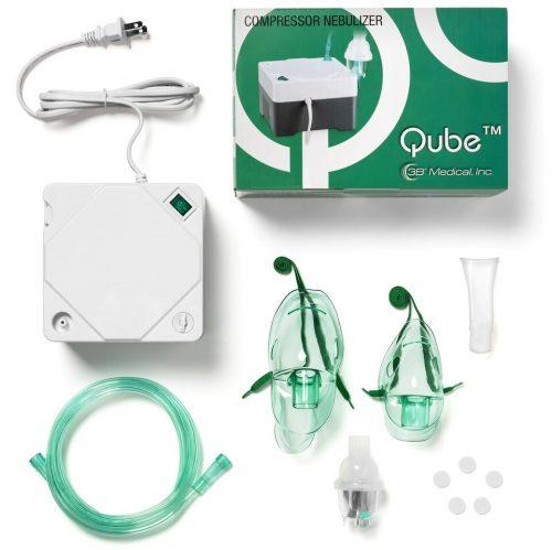 3B Qube Nebulizer Compressor Kit