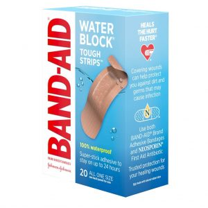 Band-Aid Brand Tough-Strips Extra Durable Adhesive Bandages