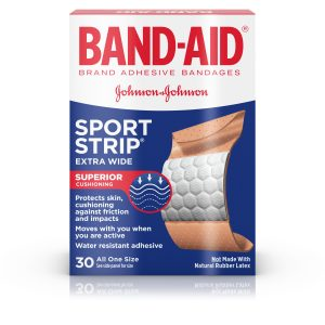 Band-Aid Sport Strip Extra Wide (Pack of 30)