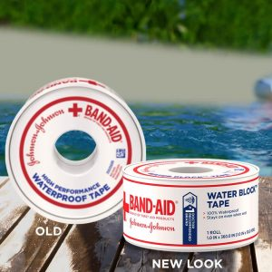 Band-Aid Brand Water Block Tape (2 Pack )