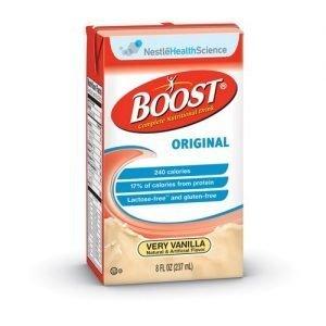 Boost Original Drink Vanilla 8 oz (Pack of 24)