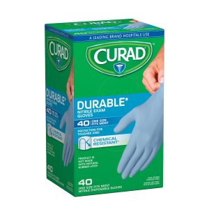 Curad Nitrile Exam Gloves (Pack of 40)