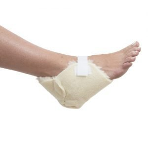 Essential Medical Supply Sheepette Synthetic Sheepskin Heel & Elbow Protectors