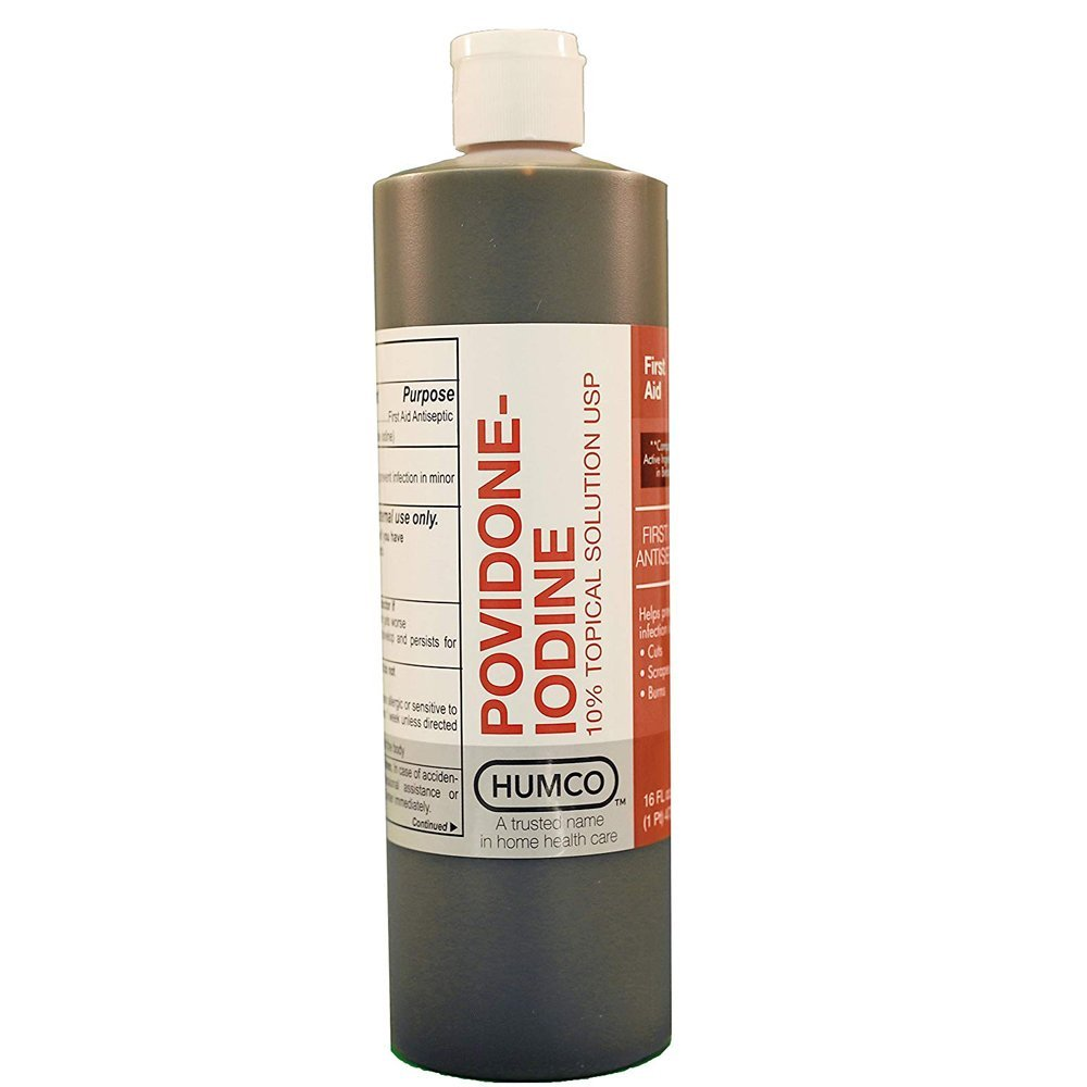 Humco Povidone Iodine 10% Topical Solution - RiteWay Medical