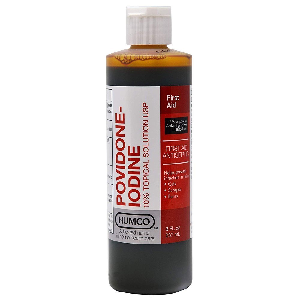 Humco Povidone Iodine 10% Topical Solution