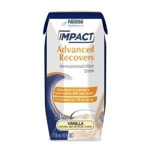 Nestle Impact Advanced Recovery 6 oz Immunonutrition Drink