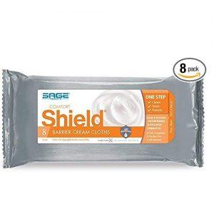 Saga Shield Barrier Cream Cloths (Pack of 8)