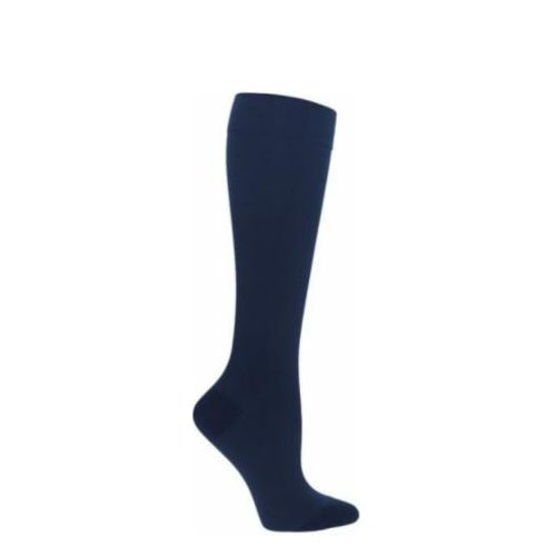 5da378f37 Dr. Scholl s Women s Sheer Compression Stockings 15-20 mmHg Knee High  Closed Toe Navy