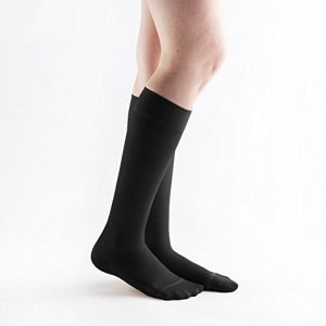 51f2f7c94c9 Dr. Scholl s Women s Sheer Compression Stockings 20-30 mmHg Knee High  Closed Toe Black