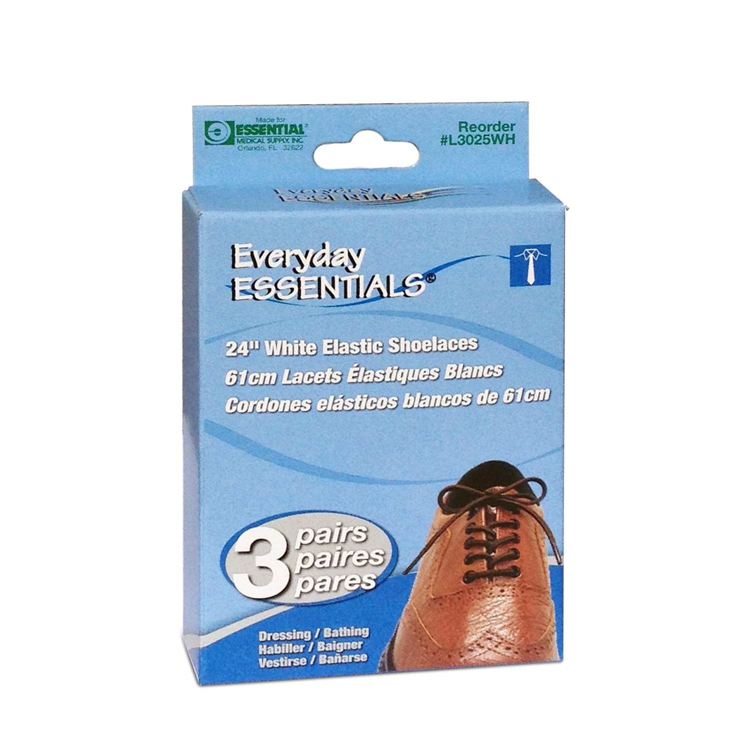 Buy Essential Elastic Shoelace - RiteWay Medical Supplies