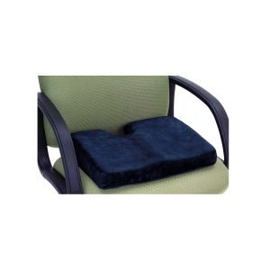 Essential Memory Foam Sculpted Seat Cushion With Cut Out