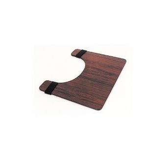 Essential Wheelchair Tray in Rosewood Color