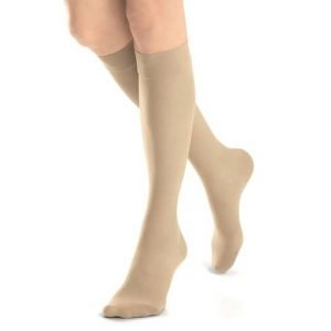 Jobst UltraSheer Stockings 30-40 mmHg Knee-High Closed-Toe Natural
