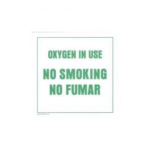 MedQuip NO SMOKING Sign (4 Pack)